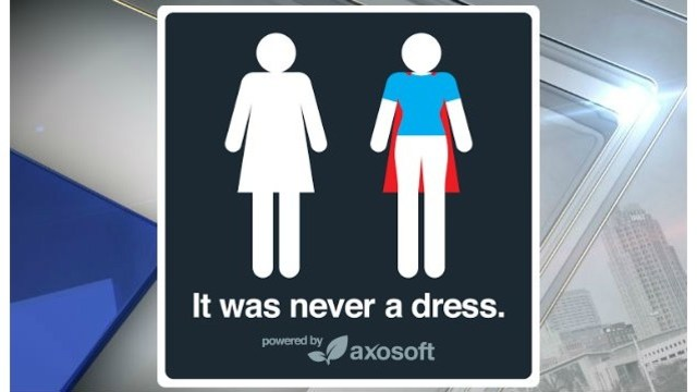 'It was never a dress': Women's bathroom symbol gets a clever update