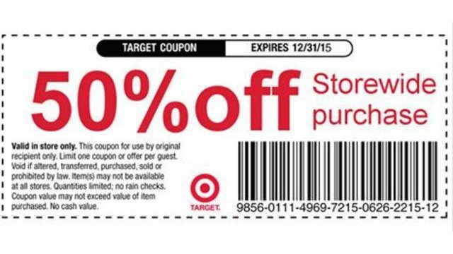 Too good to be true: Target coupon offering 50 percent off debunked