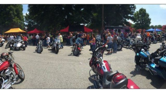 Bikers gather in Raleigh for Buffalo wing cook-off fundraiser