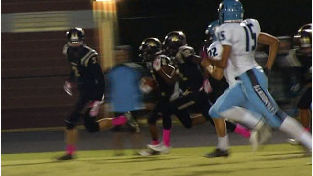 Holly Springs crushes Panther Creek, 64-27