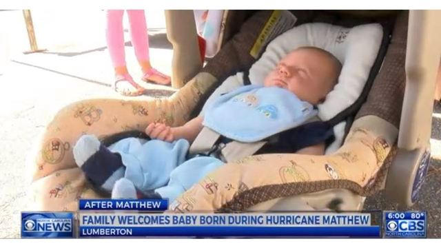 Lumberton baby delivered in mobile unit after hospital loses water, electricity