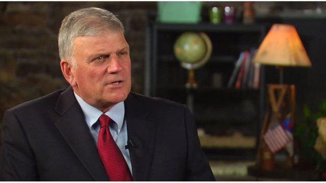 Franklin Graham talks about father Billy Graham's life at age 98