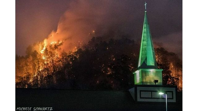 NC wildfires near 50,000 acres as Lake Lure fire spreads to evacuated areas