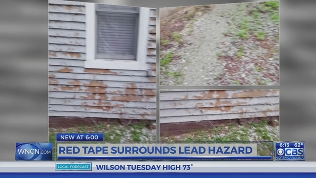 Months later, lead paint chips remain in Durham front yards