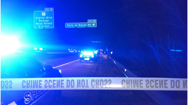 Wake County deputies investigate human remains found off I-540
