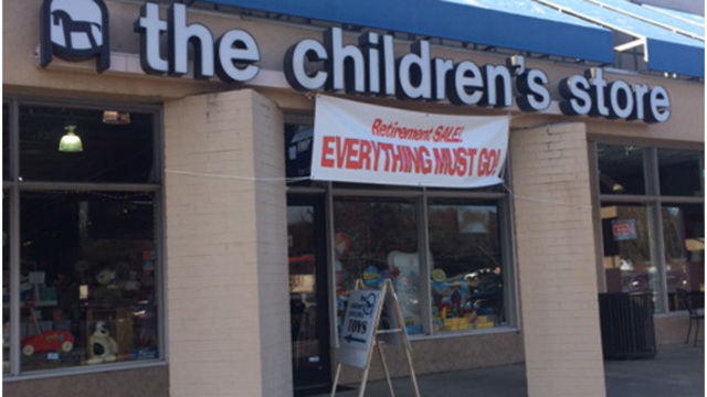 Chapel Hill toy store to close after 40 years
