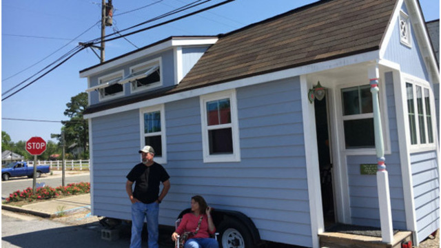Tiny house festival comes to tiny NC town