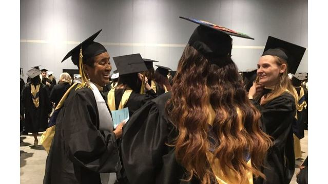 70-year-old Raleigh grandmother graduates from college