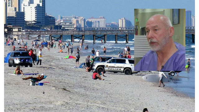 Pilot of plane that crashed in water in Myrtle Beach tells his story