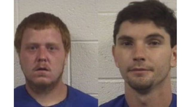 2 NC men charged after moped rider found beaten in roadside ditch