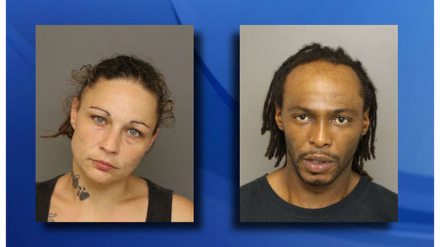 Man, woman charged in Moore County robberies used Tasers, sheriff's office says