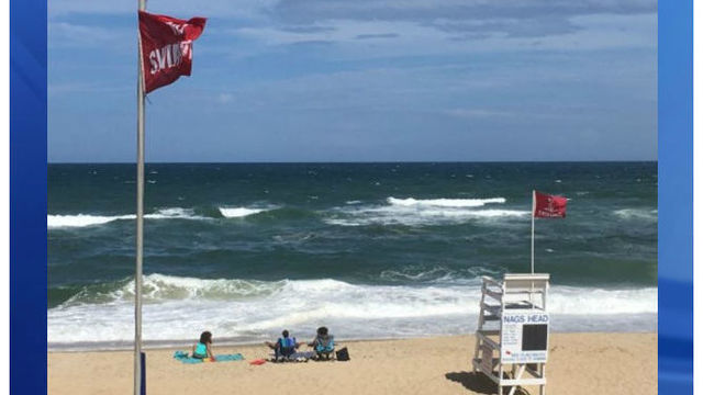 Swimmer dies after being pulled from ocean at Outer Banks