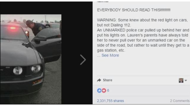 True? Social media posts say to call 112 instead of 911