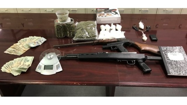 Nearly $95K worth of drugs, as well as guns, vehicles seized in Franklin County bust
