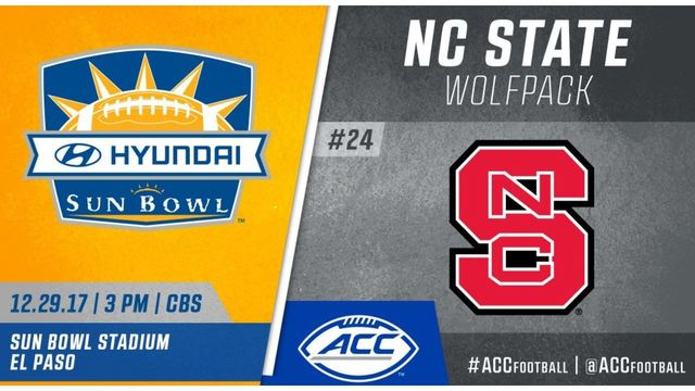 NC State football to compete in Hyundai Sun Bowl
