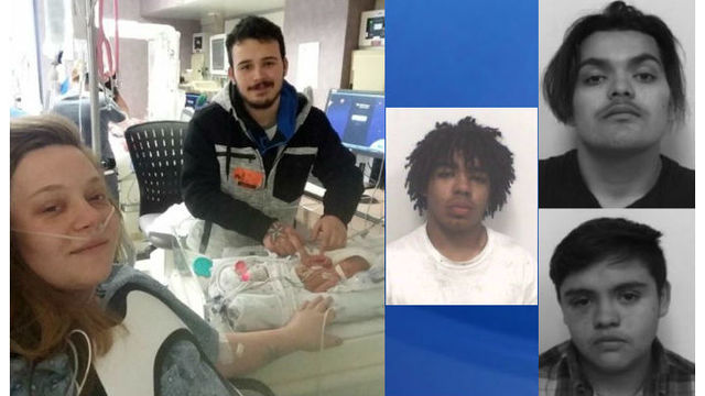 NC baby, new mom recovering after shooting during pregnancy; 3 charged