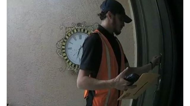 VIDEO: Amazon delivery man entered Florida home without permission, says homeowner