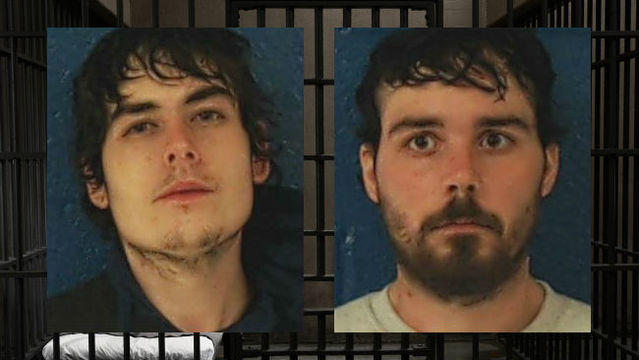 2 men caught breaking into Southern Nash HS, trying to get money from vending machine
