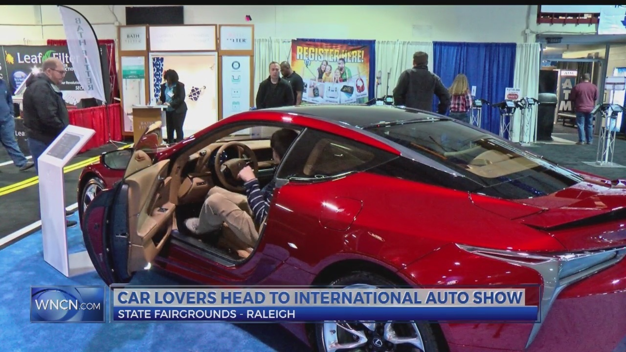 NC International Auto Show Allows A Glimpse At Classic And Cutting - Raleigh car show