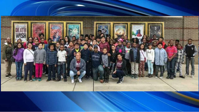 NC man takes hundreds of children to see Black Panther movie