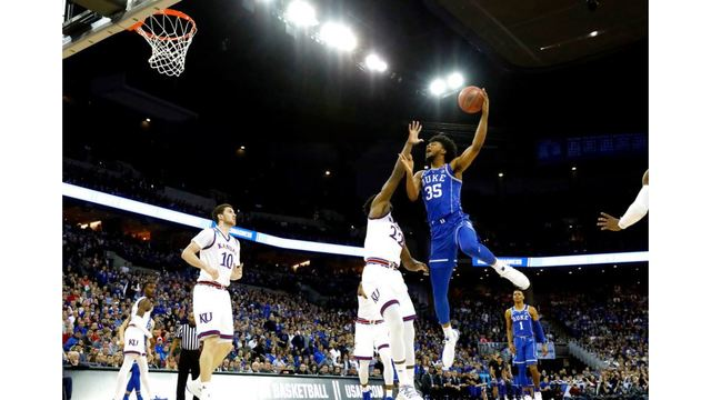 Duke falls short of Final Four in OT loss to Kansas