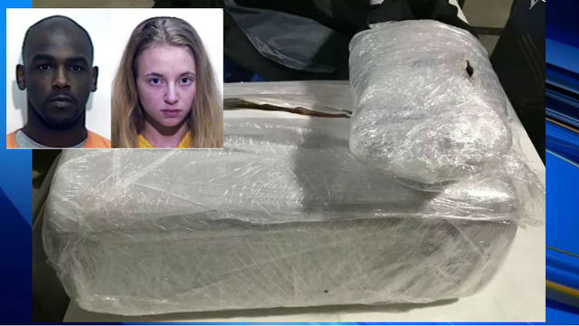 NC pair nabbed after high-speed chase, 25 pounds of pot seized, deputies