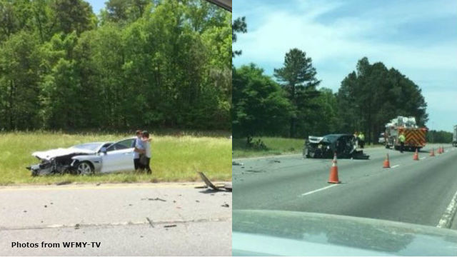 Man dies after NC crash with tractor-trailer on I-85