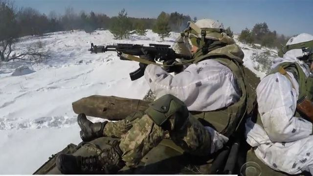 U.S. trains troops for front line 'hybrid war' with Russia