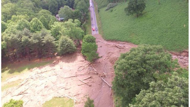 Officials assess damage from deadly mudslides in NC mountains