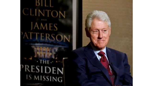 Bill Clinton bristles at questions on #MeToo and Monica Lewinsky