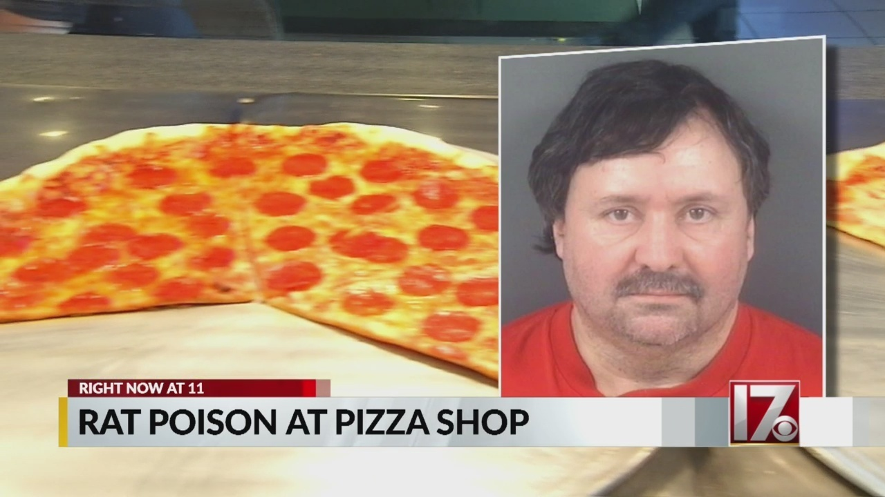 Man arrested for mixing rat poison into cheese at pizza shop, police say