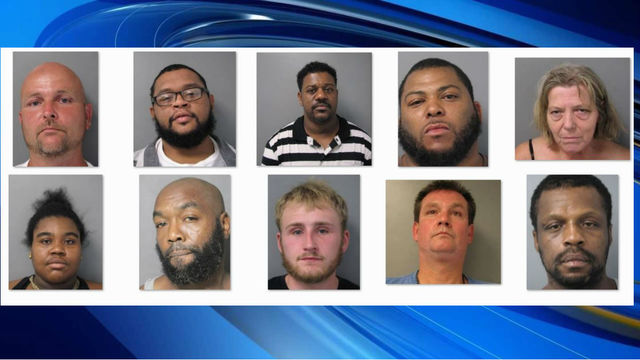 10 facing 62 felony charges in major Franklin County bust, deputies say