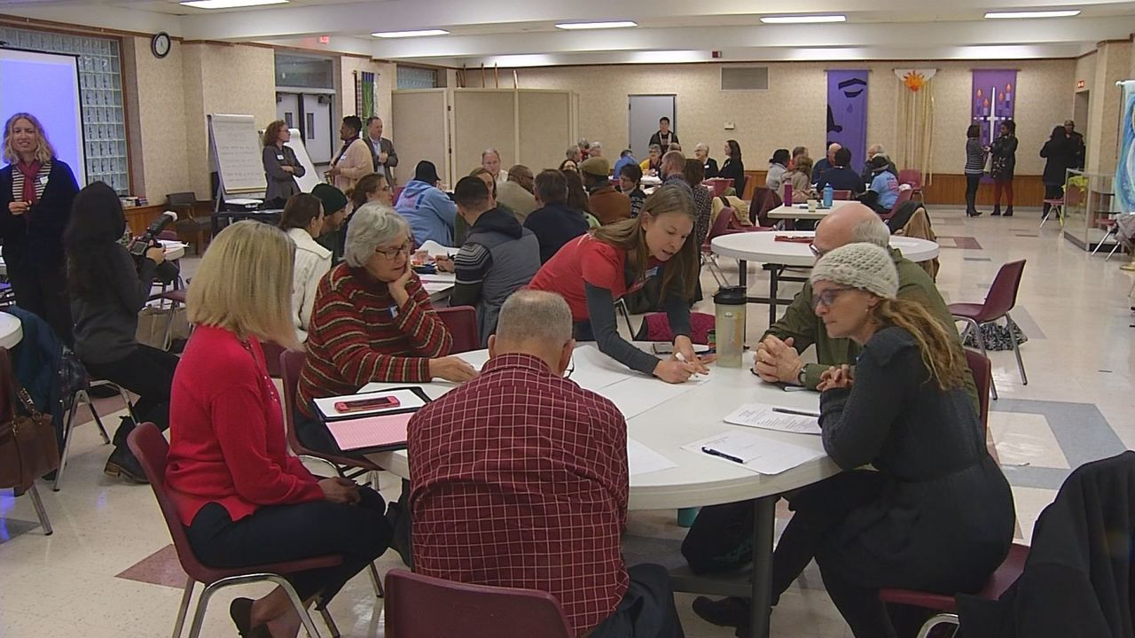 Raleigh church leaders, community come together to talk gun violence