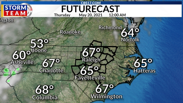 Hour-By-Hour Forecast | CBS 17